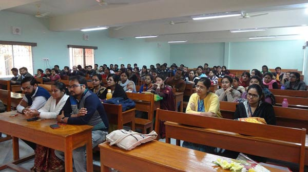 Participants at the Library Orientation Programme